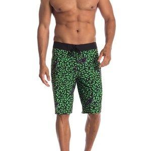 Other - Sweet Oblivion Green Shark Swim Trunks